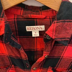 Merona Dresses - Buffalo check plaid dress